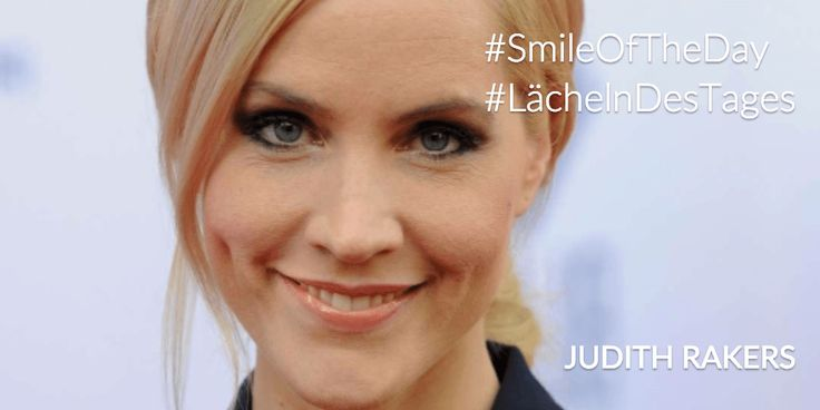Smile of the day / Lächeln des Tages 04.04.2015: Judith Rakers