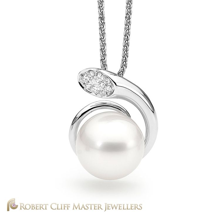 This beautiful #pearl and #diamond pendant would make the perfect gift for any woman this #easter!   Check out more of our #jewellery here: bit.ly/RCMJdiamondpendants #diamonds #Gemstone #Gems #bling #stunningjewellery #jewellerydesign #design #beauty #style #jewellerydesign #bling #luxurybrand #luxurylife #fashionaccessories #jewelleryaddict #instastyle #jewels #masterjeweller