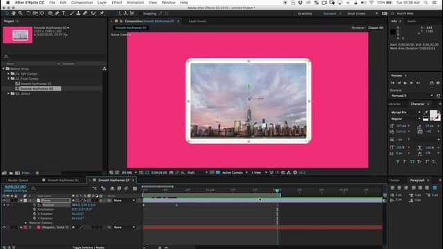 Hello! This easy tutorial will instantly help you make better animations inside of After Effects. You will learn a great technique to help you smooth keyframes for a more organic and natural motion to anything you animate. Free project included!  You can download the project used here: https://motionarray.com/tutorials/smooth-keyframes-in-after-effects