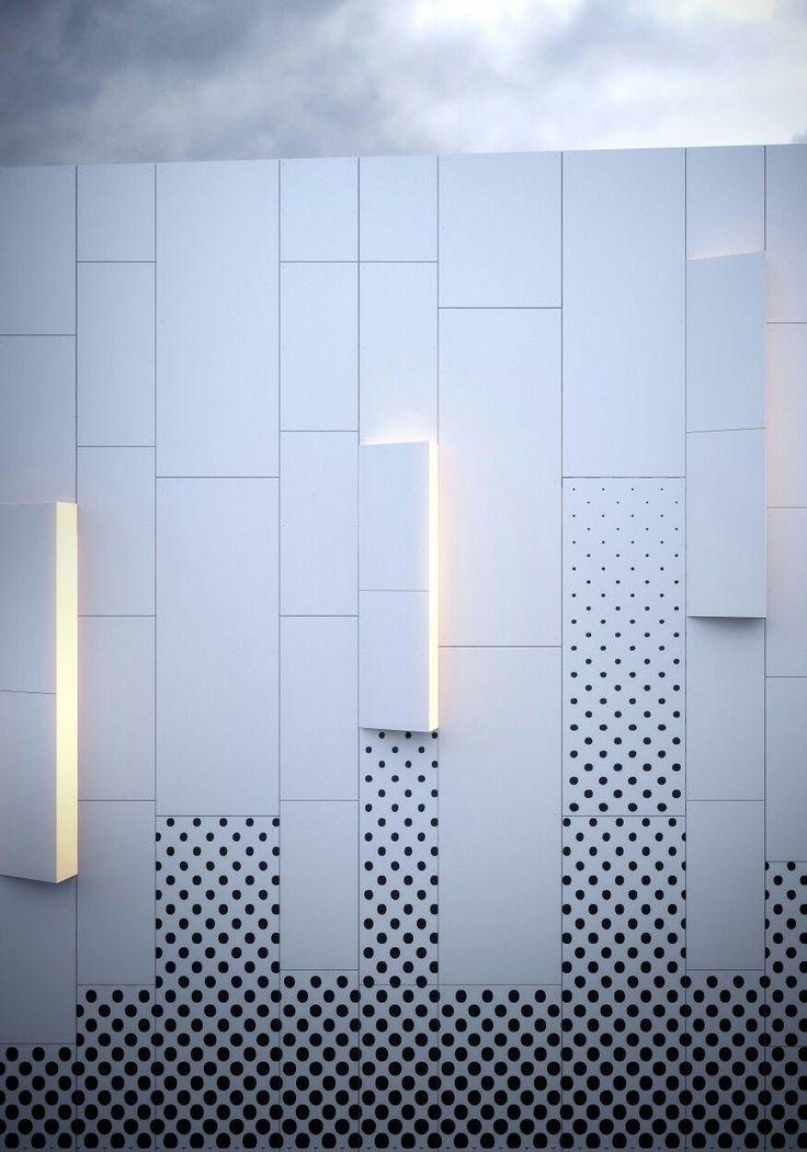 Pure White HPL facades from Kronoart add a modern …