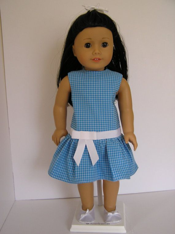 Dress  for 18 Inch Doll by blinkersoh on Etsy, $10.00