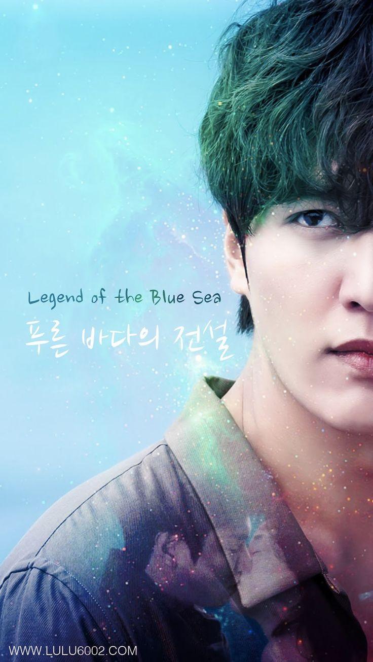 legend of the sea blue fondos para celular kdrama