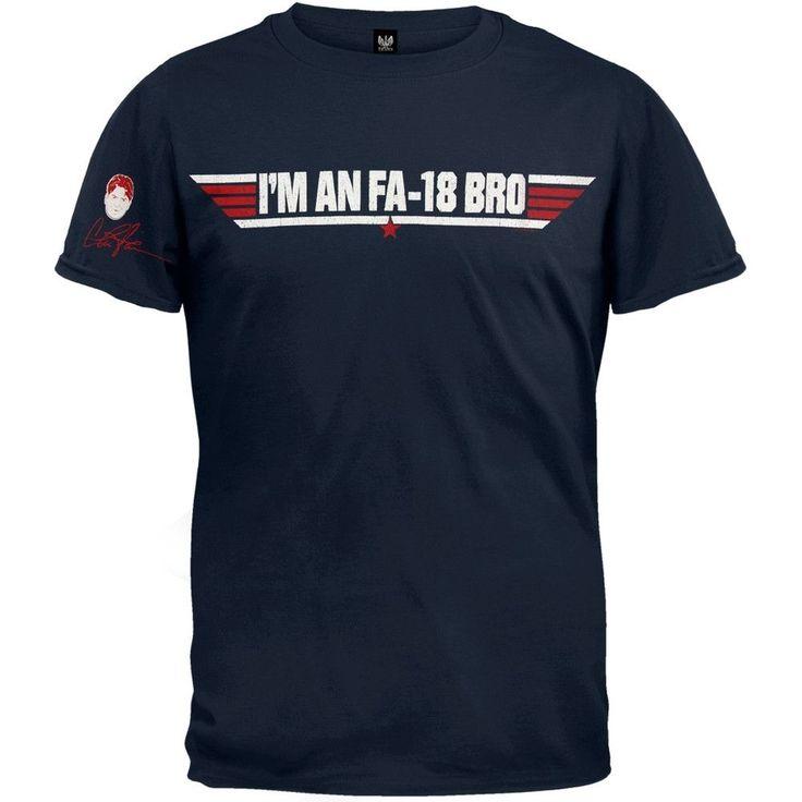 Charlie Sheen - FA-18 Bro T-Shirt
