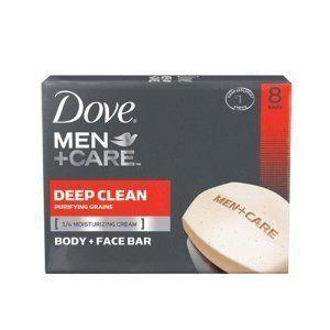 Dove Men + Care Body and Face Bar, Deep Clean, 4 Ounce, 8 Count by Dove, http://www.amazon.com/dp/B002TSA90W/ref=cm_sw_r_pi_dp_b4hPrb1GS73QM