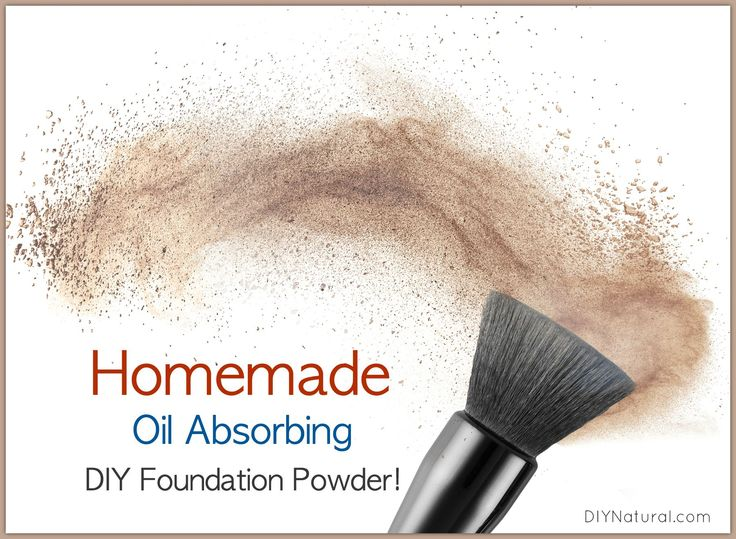 Homemade makeup can be very simple AND effective. Enjoy this homemade foundation powder for oily skin that conceals blemishes without all the harsh chemicals.