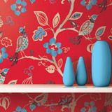 Crown Paradise Flamenco Wallpaper