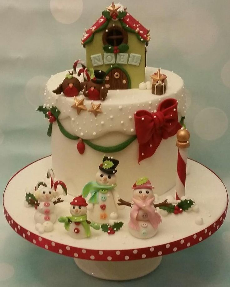 1000+ ideas about Christmas Cake Designs on Pinterest ...