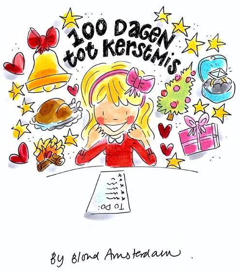 100 days until Christmas! by Blond Amsterdam