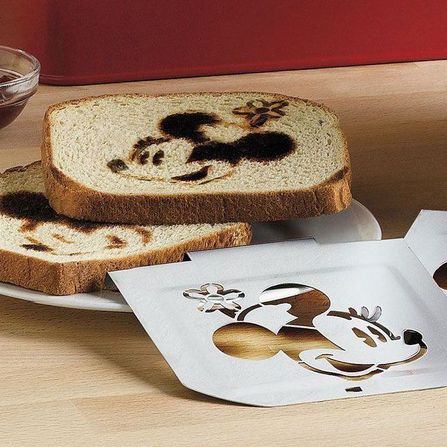 Mickey Mouse Toaster w/ Bread Box: Mickey Mouse, Breads Boxes, Funny Pictures, Minnie Mouse, Mouse Toaster, Breakfast Breads, Minnie Patterns, Mouse Parties, Kid