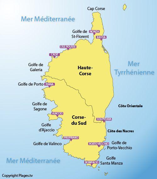 25 Best Ideas About Corse Carte On Pinterest Carte De