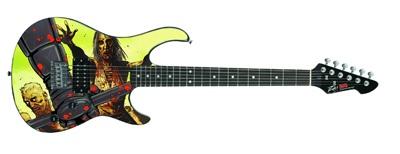 TWD Peavey Guitar Comic Zombies