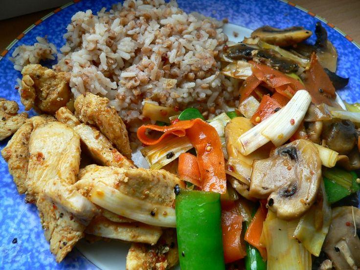 Pohanka s rýží