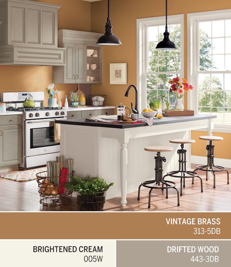 warm browns like dutch boys october color of the month vintage brass 313 - Enrob Color