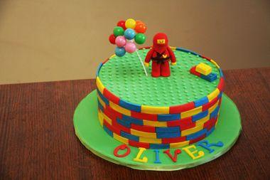 Lego Ninja Cake Tutorial Tutorial on Cake Central