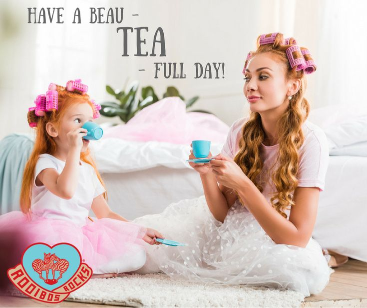 Have a beau-TEA-full day! Rooibos Tea is high in antioxidants and flavonoids, which also promotes youthfulness and great skin.