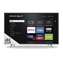 "Hitachi 55"" Class UHD TV with Roku - 55R7"