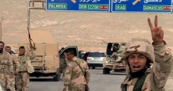 Syrian armed forces have entered Palmyra after fierce clashes with ISIS terrorists who have been controlling the ancient city since las...