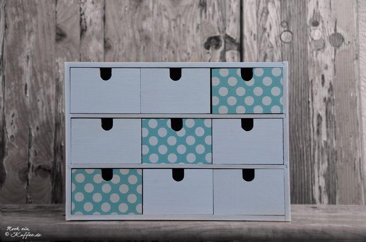 LoveAndLilies.de|Ikea Minikommode Serviettentechnik