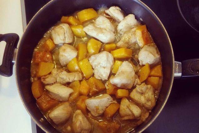 Bocconcini di pollo con la zucca una ricetta gustosa per Halloween
