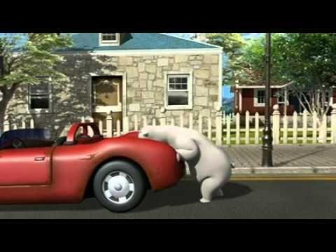 Bernard Bear The car4