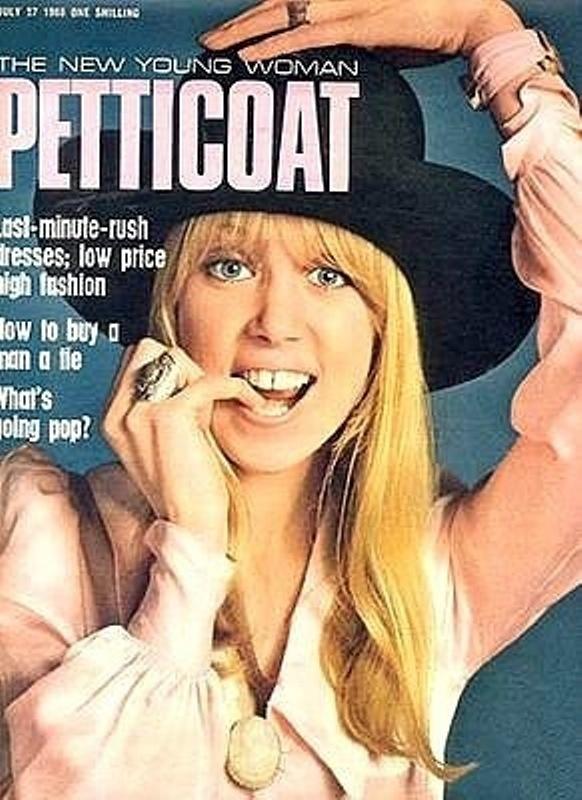 1960s Mini Skirt Magazine