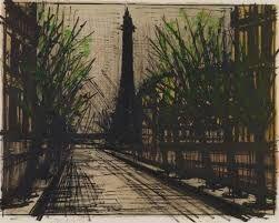"""Résultat de recherche d'images pour """"Bernard BUFFET (1928-1999) La Tour Eiffel"""""""