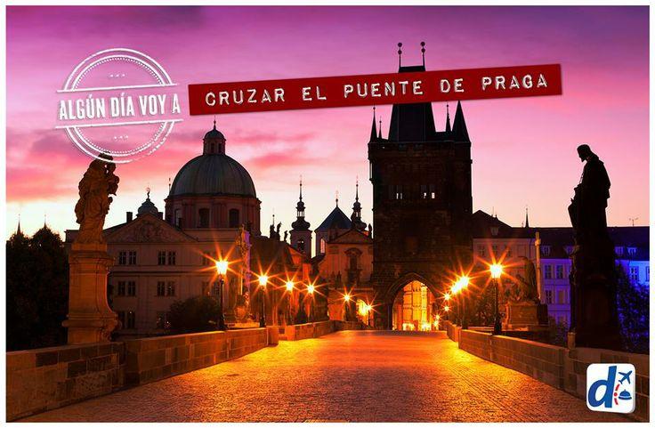 Cruzar el puente de Praga con Despegar --> www.despegar.com