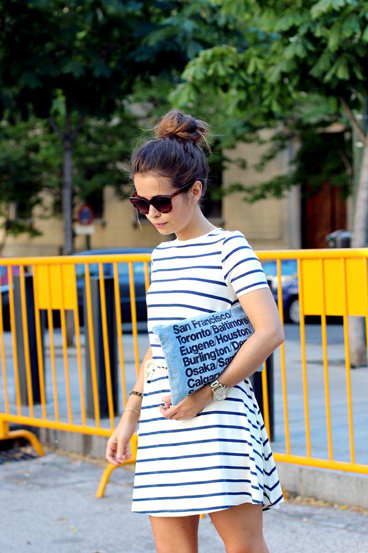 classics // daily uniform --- the stripe dress