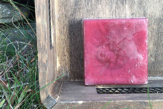 Pomegranate & Bergamot Scented Soap With Optional Natural Loofah - SLS-FREE Seasonal Blends Collection