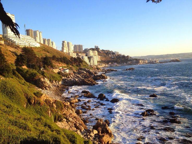 Reñaca / Chile, Pacific Coast