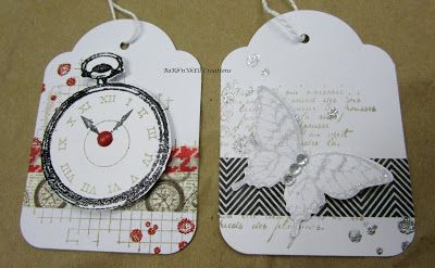 BaRb'n'ShEllcreations- Stampin' Up Gift Tags - made by Shell