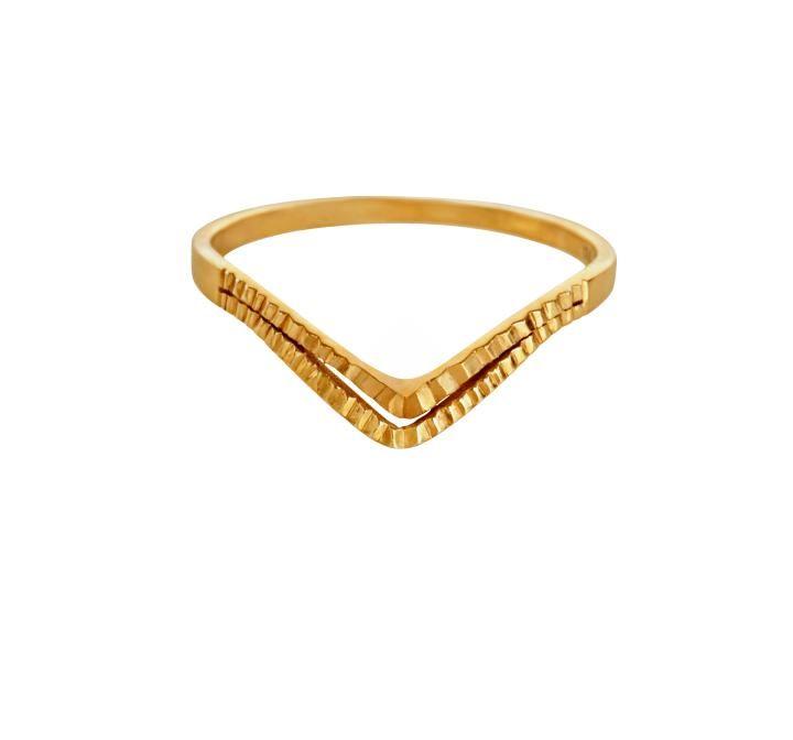 Kinz Kanaan made of solid 14 karat ring