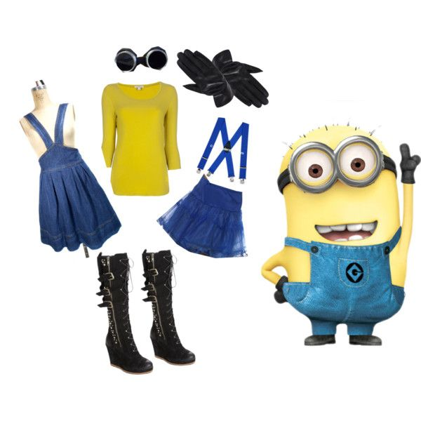 Women's Sexy Despicable Me Minion Halloween Costume ...