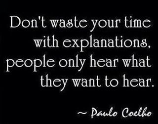 Positive Inspirational Quotes. Very very true..... If someone really cared then an explanation would not be needed. ;)
