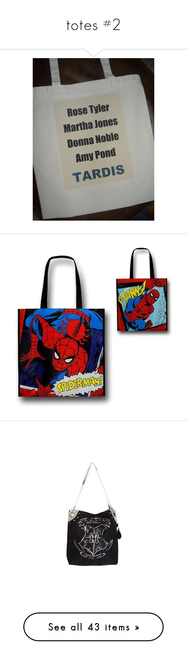 """""""totes #2"""" by sarah-hill-622 ❤ liked on Polyvore featuring doctor who, bags, handbags, tote bags, handbags tote bags, tote hand bags, tote handbags, tote purses, tote bag purse and 5sos"""