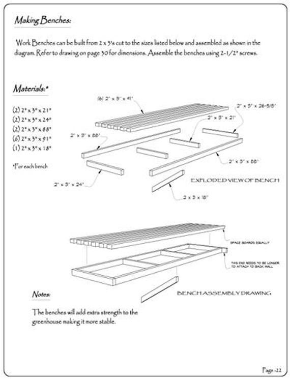 6 10 X 8 0 Greenhouse Plans Pdf Version With Images Greenhouse Plans Greenhouse Build A Greenhouse