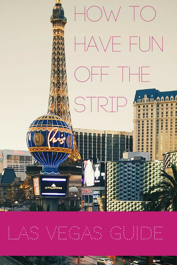 5 fun attractions off The Strip!