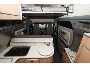 Group C - Ford Rimor 4 Berth Campervan - Braitman Holland Campervan Hire Vehicle Information