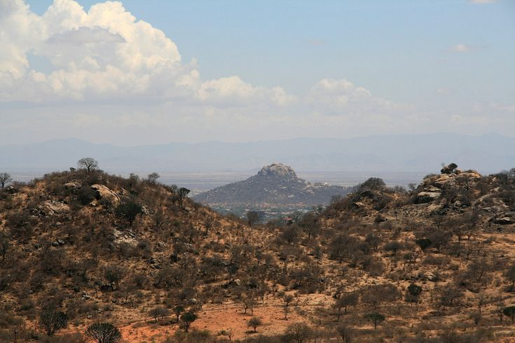 Lion's Rock - It makes a decent hiking trail in #Dodoma