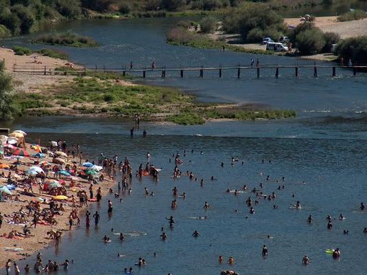 Praia fluvial Coimbra | LUUUX