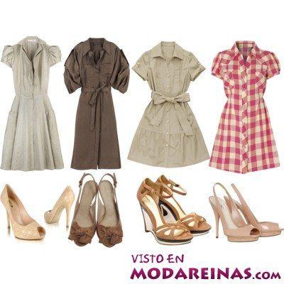 Tipos de vestidos camiseros