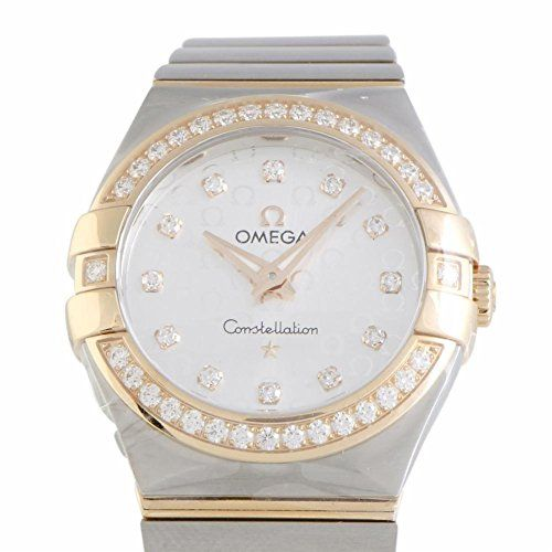 Omega Constellation quartz womens Watch 12325276052001 Certified Preowned ** Cli...