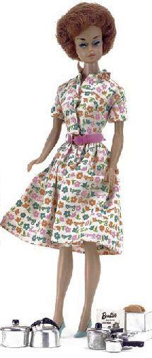 Mijn roodharige Barbie 1966