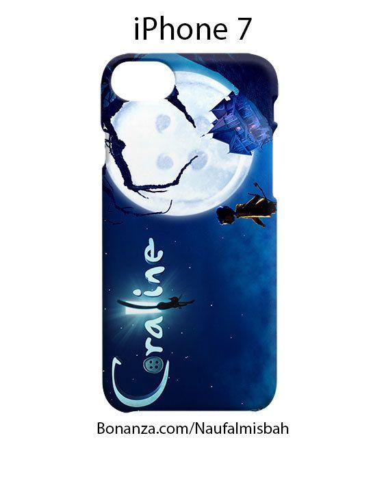 Caroline Cartoon iPhone 7 Case Cover Wrap Around