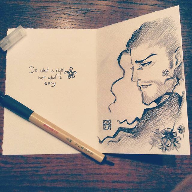 #quotes #anime #manga #fanart #postcards #wishcard #commission #stillopen #forawhile #otaku #bleach #artwork #drawing #sketch #art