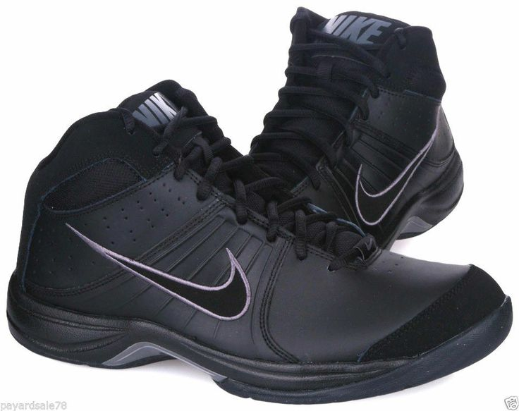Nike High Top Black Basketball Shoes | ZOLL Medical Corporation ...