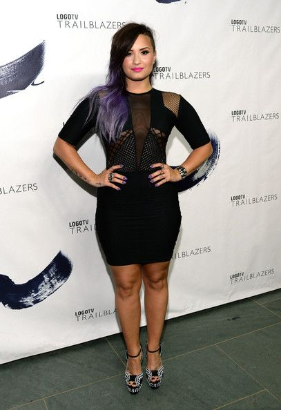 Demi Lovato - Arrivals at Logo TV's 'Trailblazers' Event