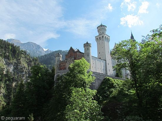 Another beautiful view of Neuschwanstein Castle
