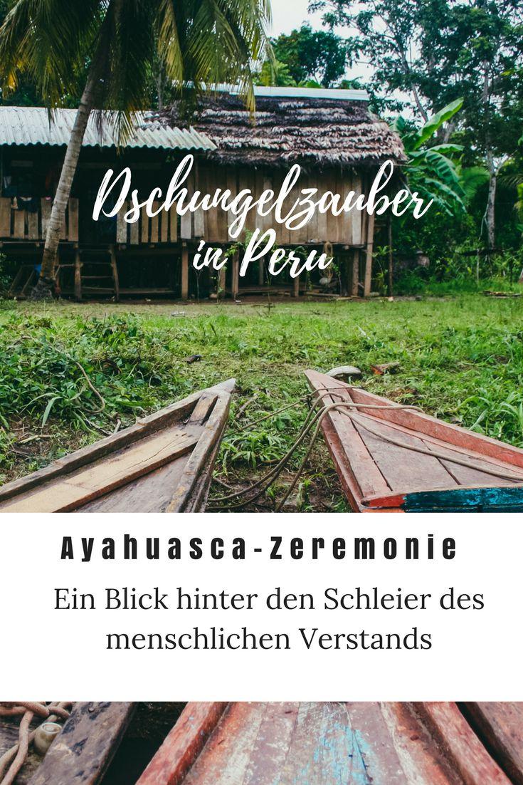 Ayahuasca-Zeremonie im Dschungel von Peru   spirituelles Reisen Amazonas