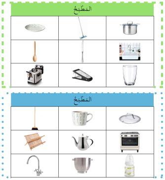 Les jeux pour apprendre l'arabe... Loto de la cuisine